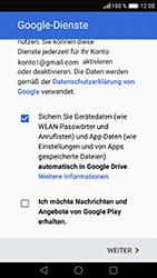 Huawei Nova - Apps - Konto anlegen und einrichten - 0 / 0
