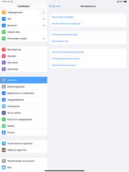 Apple ipad-pro-12-9-ipados-13 - Resetten - Fabrieksinstellingen terugzetten - Stap 5