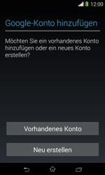 Sony Xperia E1 - Apps - Konto anlegen und einrichten - 4 / 23