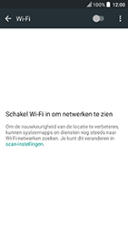HTC U Play - wifi - handmatig instellen - stap 5