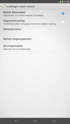 Sony C6833 Xperia Z Ultra LTE - Netwerk - Handmatig netwerk selecteren - Stap 9