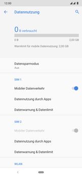 Nokia 6.2 - Internet und Datenroaming - Prüfen, ob Datenkonnektivität aktiviert ist - Schritt 7