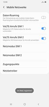 Samsung Galaxy A50 - Netzwerk - Manuelle Netzwerkwahl - Schritt 14