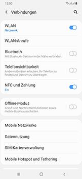 Samsung Galaxy A50 - WiFi - WiFi Calling aktivieren - Schritt 6