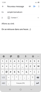 Samsung Galaxy A51 - E-mails - Envoyer un e-mail - Étape 10