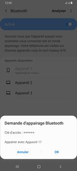 Samsung Galaxy A70 - Bluetooth - connexion Bluetooth - Étape 10