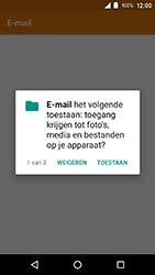 Crosscall Action X3 - E-mail - e-mail instellen (outlook) - Stap 4