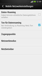 HTC Desire 601 - Ausland - Im Ausland surfen – Datenroaming - Schritt 7