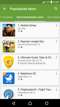 Sony Xperia XA Ultra (F3211) - apps - app store gebruiken - stap 11