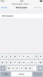 Apple iPhone 6 Plus iOS 8 - WiFi - Configuration du WiFi - Étape 8