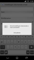 Sony D5803 Xperia Z3 Compact - E-mail - Account instellen (IMAP zonder SMTP-verificatie) - Stap 11