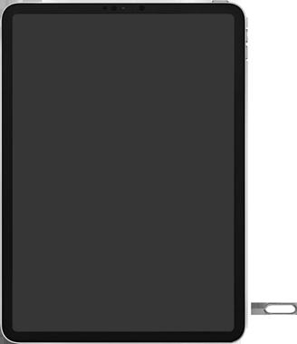 Apple ipad-pro-10-5-inch-met-ipados-13-model-a1709 - Instellingen aanpassen - SIM-Kaart plaatsen - Stap 2