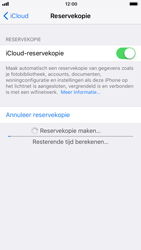 Apple iPhone 6 - iOS 11 - toestel resetten - back-up maken met jouw account - stap 13