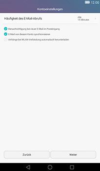Huawei MediaPad T1 (7.0) - E-Mail - Konto einrichten - 17 / 21
