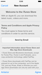 Apple iPhone 5c - Applications - setting up the application store - Step 11