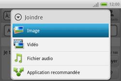 HTC A810e ChaCha - MMS - envoi d'images - Étape 9