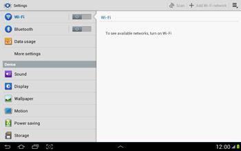 Samsung N8000 Galaxy Note 10-1 - Internet - Manual configuration - Step 4