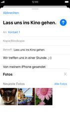 Apple iPhone 7 - iOS 13 - E-Mail - E-Mail versenden - Schritt 11