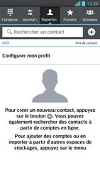 LG Optimus F5 - Contact, Appels, SMS/MMS - Ajouter un contact - Étape 4