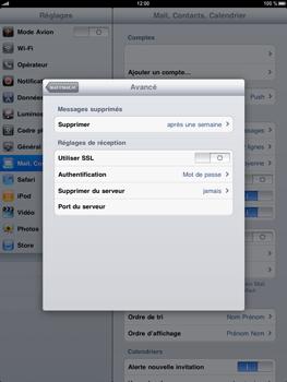 Apple iPad - E-mail - Configuration manuelle - Étape 14