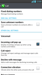 LG D505 Optimus F6 - Voicemail - Manual configuration - Step 5