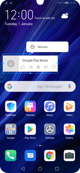 Huawei P30 Pro - Getting started - Installing widgets and applications on your start screen - Step 11
