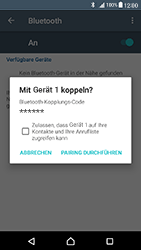 Sony Xperia X Compact - Bluetooth - Verbinden von Geräten - Schritt 7