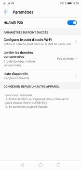 Huawei P20 - Internet et connexion - Partager votre connexion en Wi-Fi - Étape 10