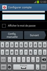 Samsung S6810P Galaxy Fame - E-mail - Configuration manuelle - Étape 6