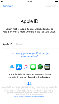 Apple iPhone 6 Plus - iOS 12 - toestel resetten - back-up maken met jouw account - stap 6
