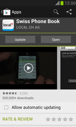Samsung Galaxy S III Mini - Applications - Installing applications - Step 7