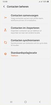 Samsung galaxy-a7-dual-sim-sm-a750fn-android-pie - Contacten en data - Contacten kopiëren van SIM naar toestel - Stap 6