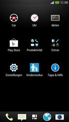 HTC One Mini - Internet und Datenroaming - Prüfen, ob Datenkonnektivität aktiviert ist - Schritt 3