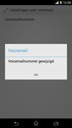 Sony Xperia M2 - voicemail - handmatig instellen - stap 9