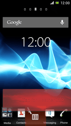 Sony Xperia J - Getting started - Installing widgets and applications on your start screen - Step 7
