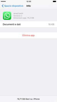 Apple Apple iPhone 7 Plus - Applicazioni - Come disinstallare un