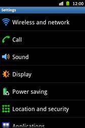 Samsung S6500D Galaxy Mini 2 - Internet - Manual configuration - Step 4