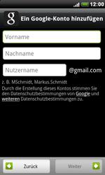 HTC A8181 Desire - Apps - Konto anlegen und einrichten - Schritt 6