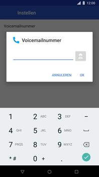 Nokia 8 Sirocco - voicemail - handmatig instellen - stap 10
