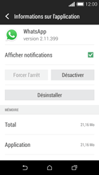 HTC Desire 510 - Applications - Supprimer une application - Étape 6