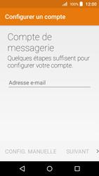 Acer Liquid Z320 - E-mail - configuration manuelle - Étape 5