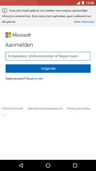 Nokia 6 (2018) - E-mail - Handmatig instellen (outlook) - Stap 8