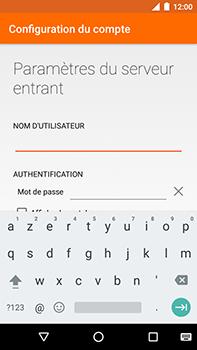 Motorola Moto E4 Plus - E-mails - Ajouter ou modifier un compte e-mail - Étape 10