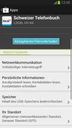 Samsung Galaxy S III - Apps - Installieren von Apps - Schritt 8