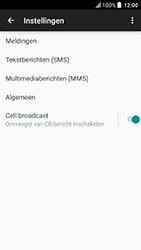 HTC U Play - sms - handmatig instellen - stap 7