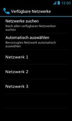 ZTE Blade III - Netzwerk - Manuelle Netzwerkwahl - Schritt 9