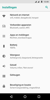 Motorola Moto G6 - internet - data uitzetten - stap 4
