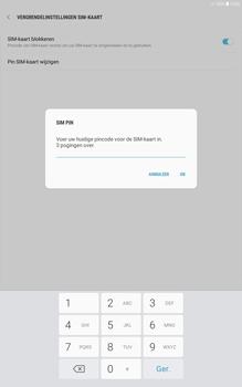 Samsung galaxy-tab-a-10-1-android-oreo - Beveiliging en ouderlijk toezicht - Hoe wijzig ik mijn SIM PIN-code - Stap 8