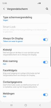 Samsung Galaxy S10 - Beveiliging en privacy - automatische schermblokkering instellen - Stap 5
