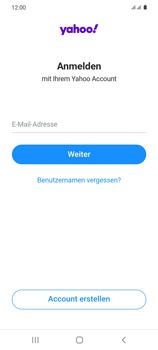 Samsung Galaxy S20 5G - E-Mail - 032b. Email wizard - Yahoo - Schritt 9